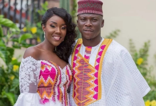 Stonebwoy and wife