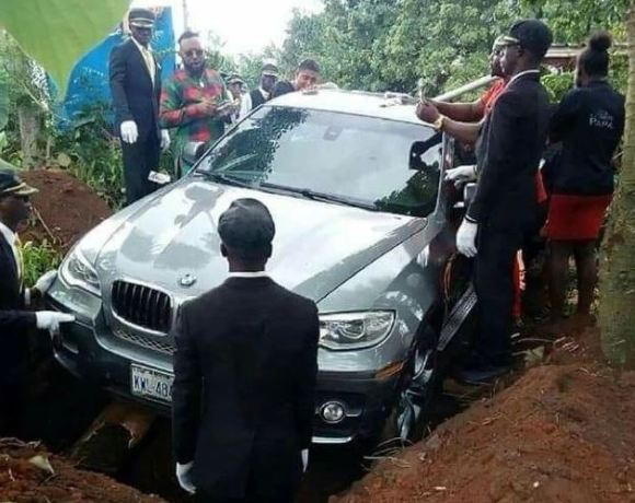 Buried in BMW