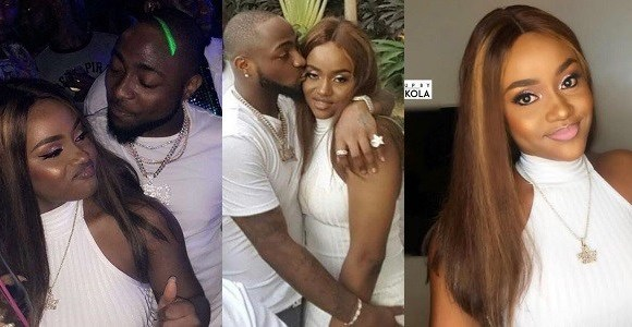 Davido and his girlfriend Chioma.....
