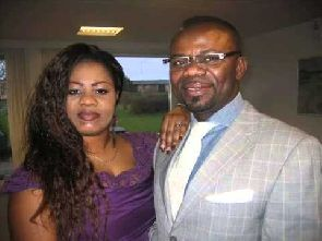 Pastor Love Hammond with his ex-wife Obaapa Christy