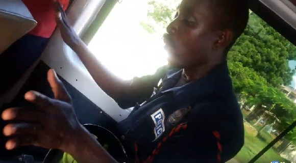 The drunk Police