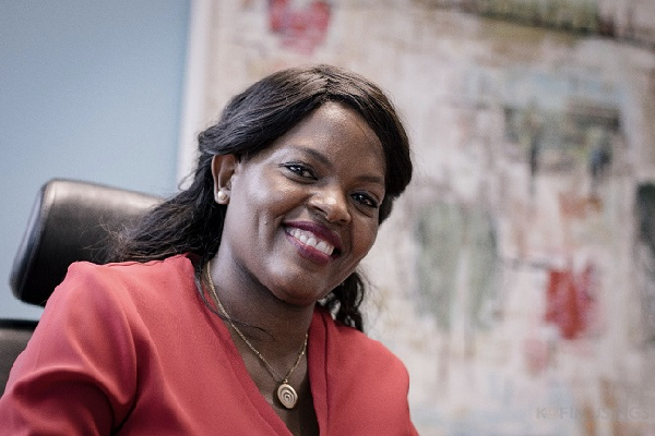 Yolanda Cuba, Chief Executive of Vodafone Ghana