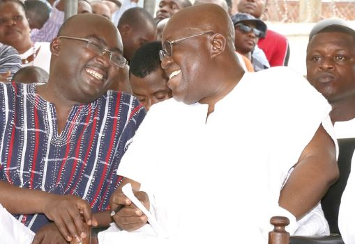 Bawumia and Akufo-Addo