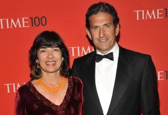 CNN host, Christiane Amanpour and husband, Jamie Rubin
