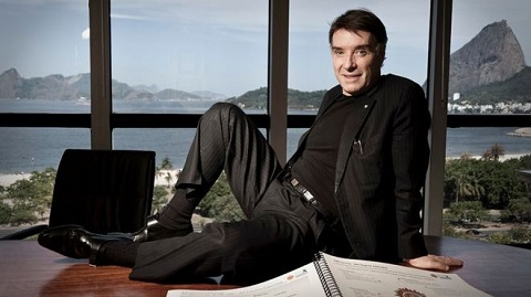 Eike Batista, seen here in his 2009 heyday, has swapped a view of Rio's shore for a jail cell