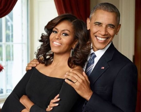 Michelle and Barak Obama