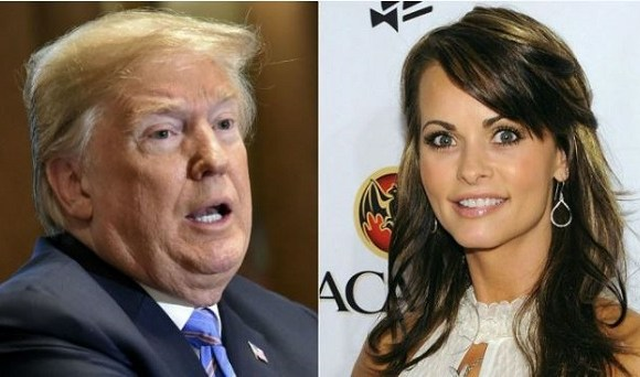 President Donald Trump has denied having any affair with McDougal