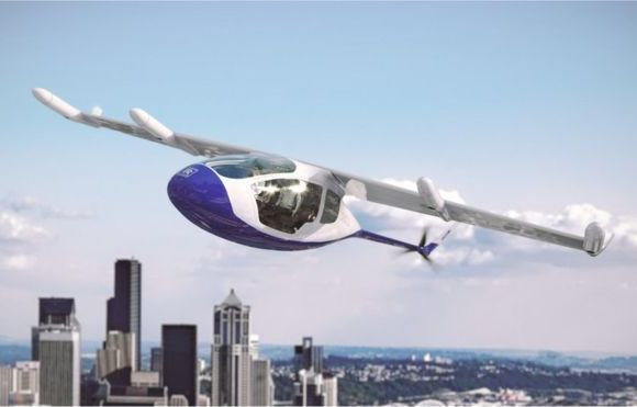 The EVTOL could carry four to five passengers for 500 miles, Rolls-Royce says