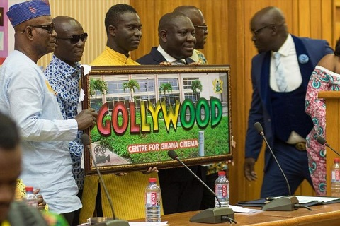 The unveiling of Gollywood