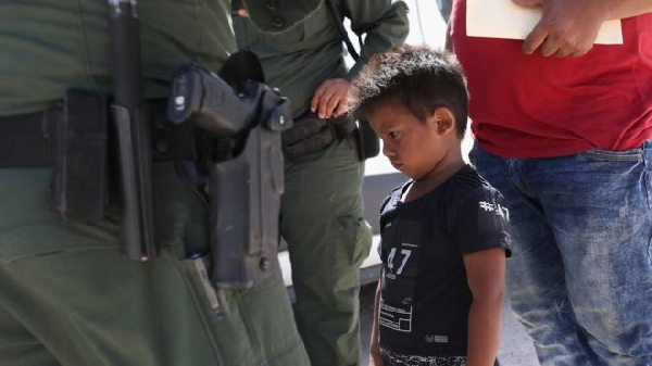 US President, Donald Trump stopped the family separations in late June