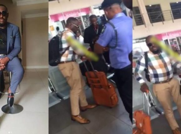 Jim Iyke breaks silence on scuffle at airport