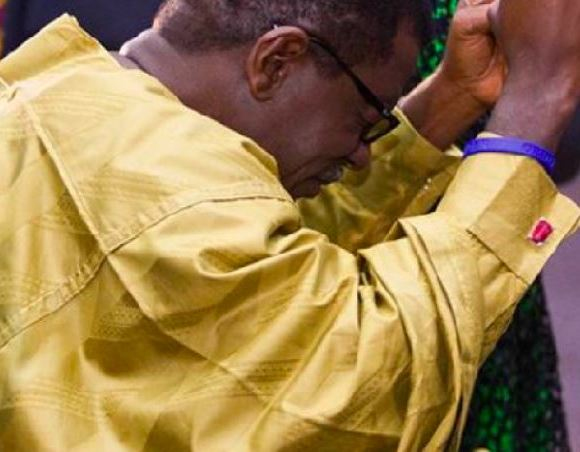 Otabil praying