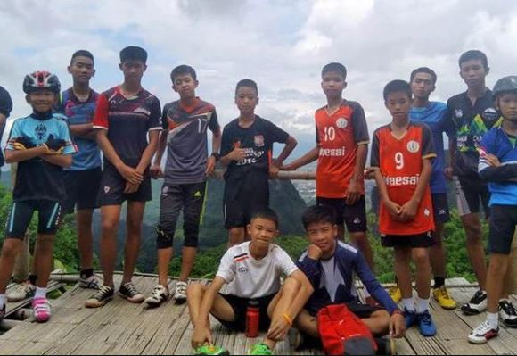 Thai young footballers