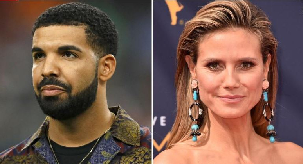 Drake apparently struck out with Heidi Klum