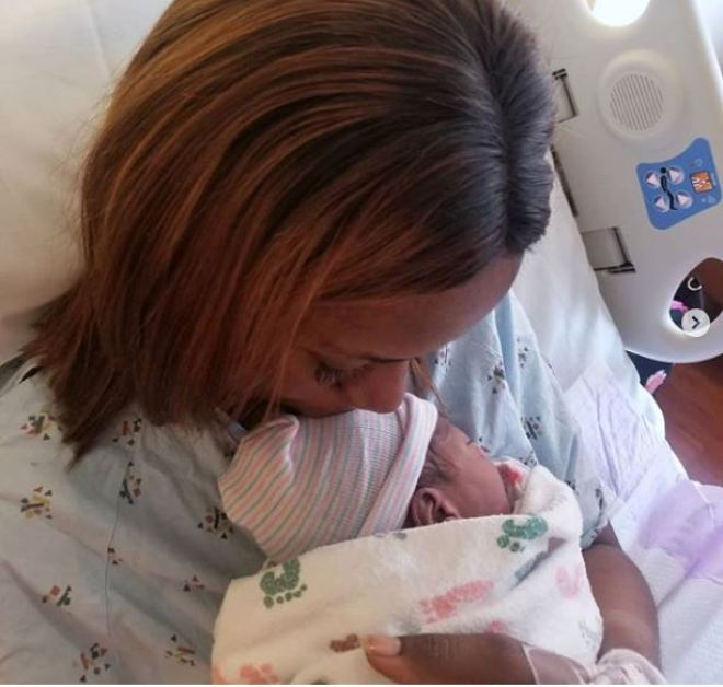 Linda Ikeji welcomes first born