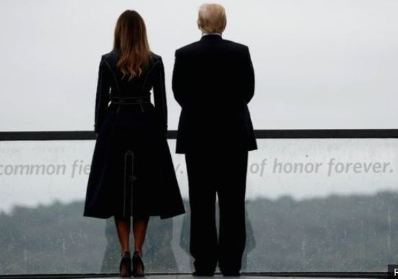 Mr and Mrs Trump