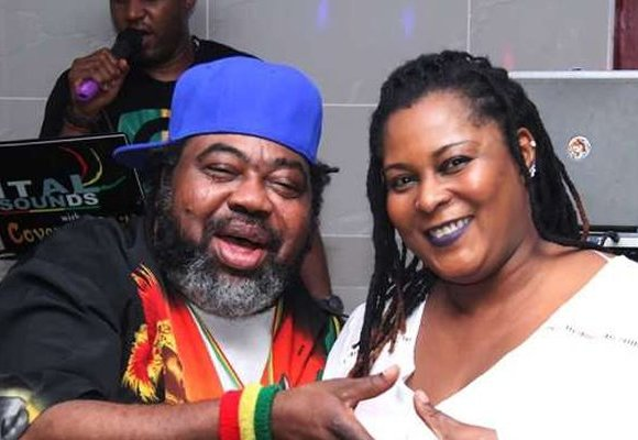Ras komono and wife
