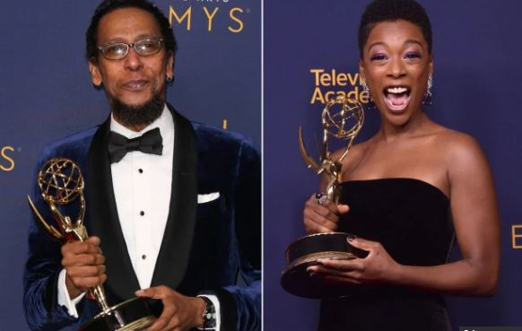 Ron Cephas Jones and Samira Wiley