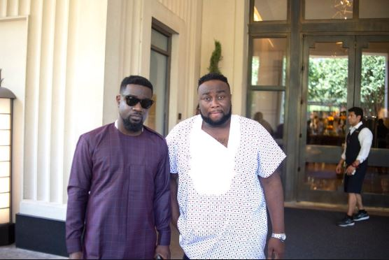 Sarkodie and manager