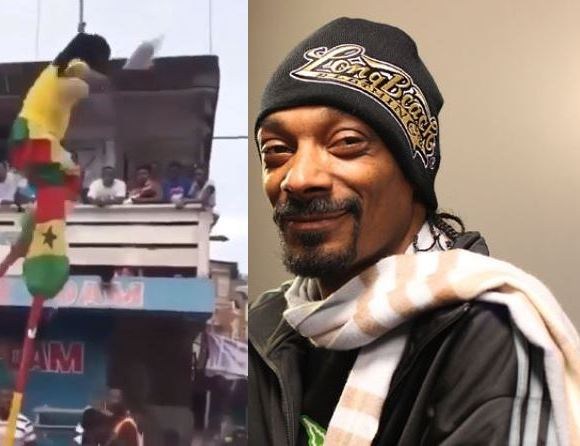 Snoop and Stilt walker