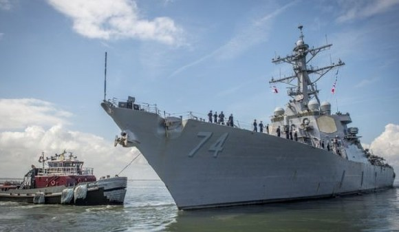 The Navy is preparing to send 30 vessels out to sea
