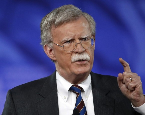 Donald Trump's national security adviser, John Bolton