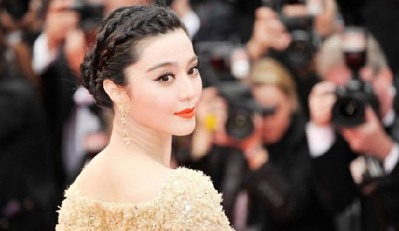 Fan Bingbing is one of the world's highest paid actors