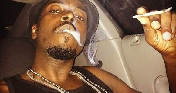 Kwaw Kese smoking weed
