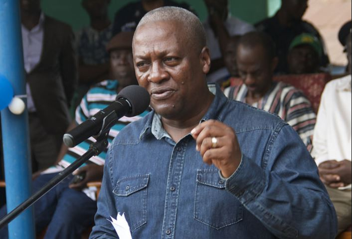 Mahama parries allegations