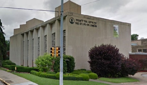 The Tree of Life Congregation Synagogue in Pittsburgh