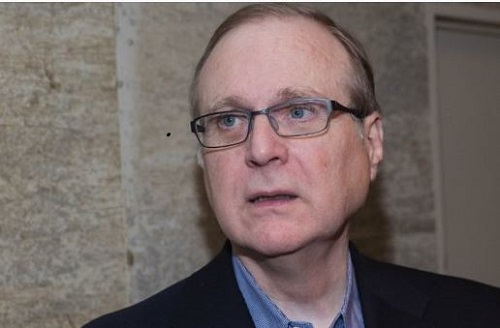 The late Microsoft co-founder Paul Allen