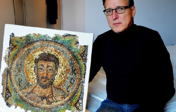 Arthur Brand says tracking down the mosaic felt very special
