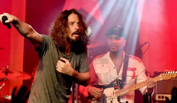 Cornell was the lead singer of Soundgarden and also Audioslave