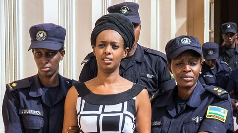 Bildergebnis für Rwanda demands 22 year jail term for Kagame critic, Diane Rwigara