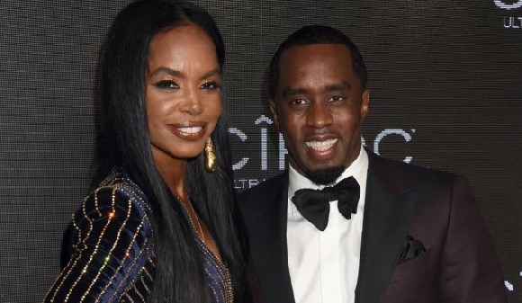 Diddy and the late Kim Porter