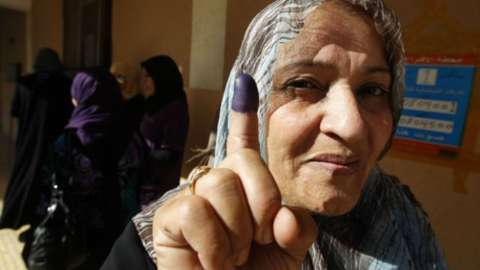 Elections were last held in Libya four years ago