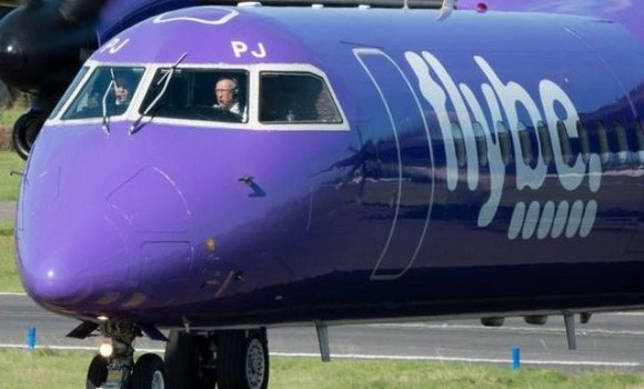 Flybe's shares have fallen by more than three-quarters