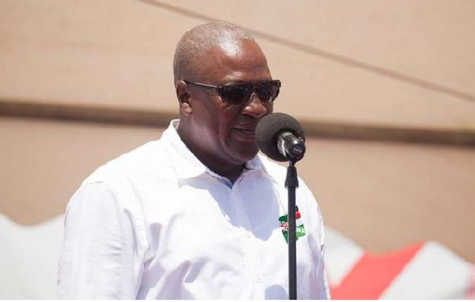 Mahama speaks tough