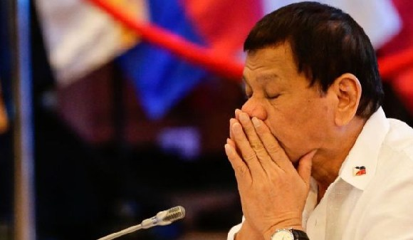 Mr Duterte has openly admitted that he is tired and ready to quit