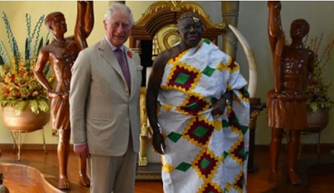Prince Charles and Otumfuo