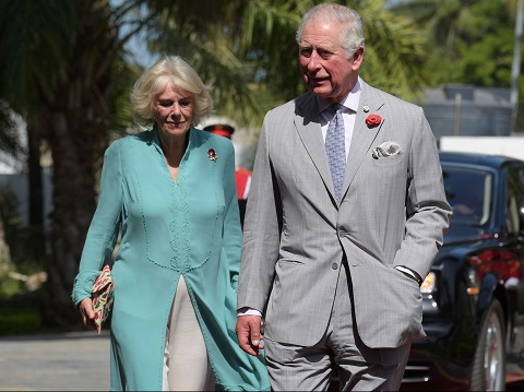 Prince Charles and wife, Camilla