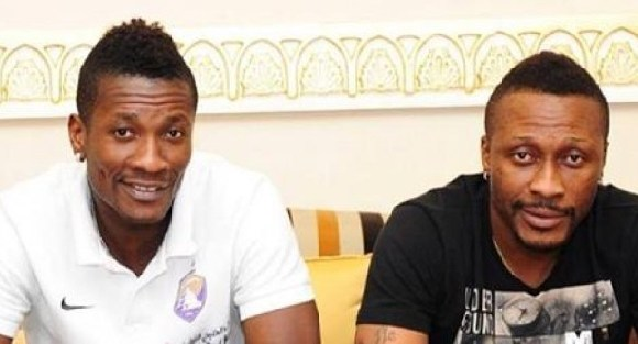 asamoah gyan and brother
