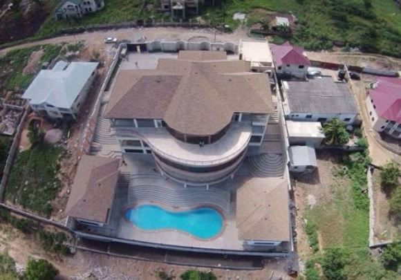 Asamoah Gyan's home located at Weija