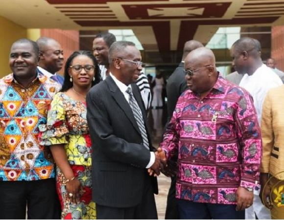 Justice Brobbey and Akufo-Addo