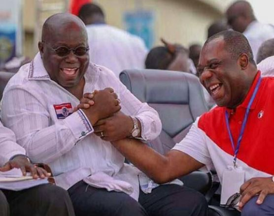 Napo and Akufo-Addo