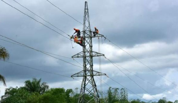 Only 12% of Liberians have access to electricity