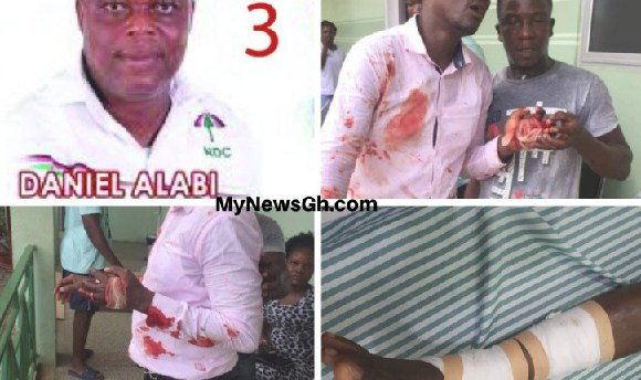 The butchered pastor, members and Blowman