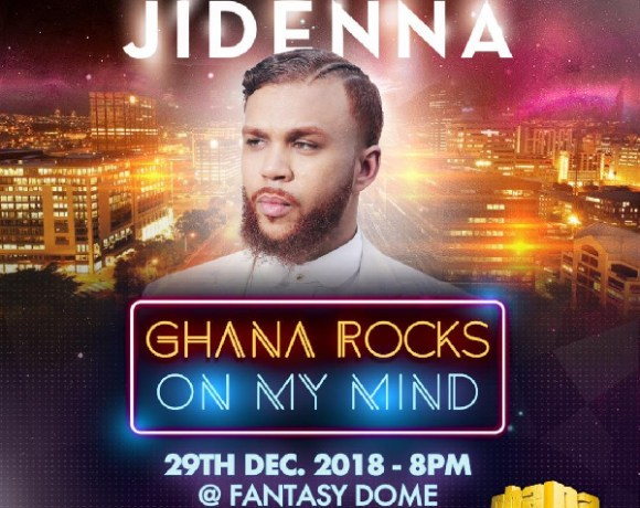 This year's edition of Ghana Rocks will be headlined by Jidenna