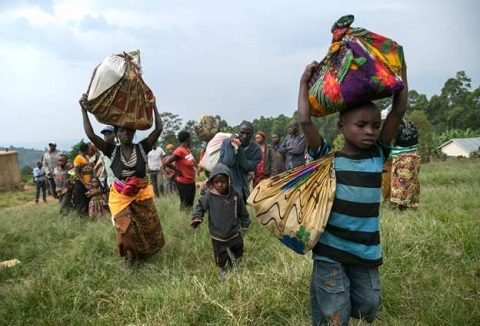 Uganda is said to host some 1.4 million refugees (file photo)