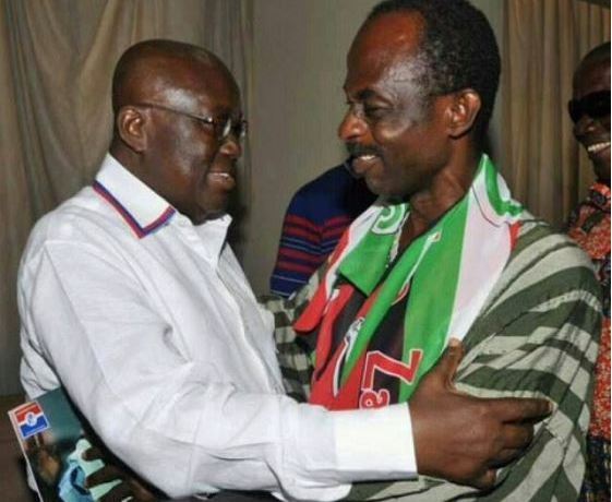 Akufo-Addo and Asiedu Nketia
